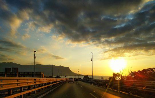 Autostrada A29 Sicilia gatto nel motore
